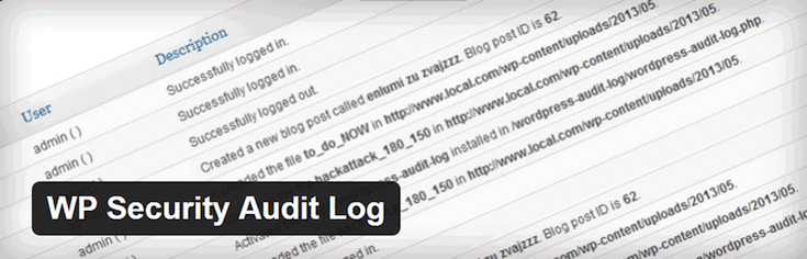Plugin de WP Security Audit Log para Controlar la Actividad de la Administracion