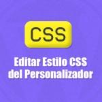 Editar Estilo CSS de Tema desde Personalizador en WordPress