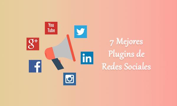 7 Mejores plugins de redes sociales en WordPress para compartir contenido