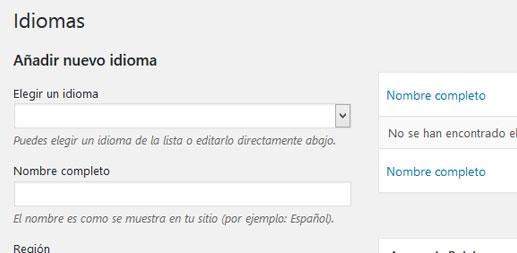 Plugin Polylang para traducir contenido de WordPress
