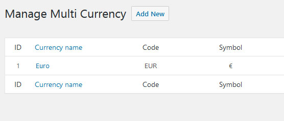Configuración del Plugin WooCommerce Currency Switcher