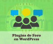 Los Mejores 6 Plugins de Foro en WordPress