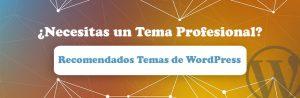 Recomendados temas de WordPress para tu sitio web