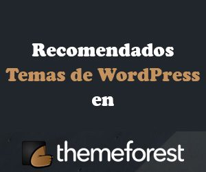 Recomendados temas de WordPress en Themeforest