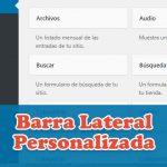 Crear una barra lateral personalizada con un plugin en WordPress