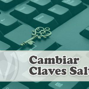 Cambiar Claves Salt de WordPress Automáticamente