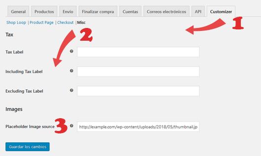 establecer una imagen destacada predeterminada en productos de WooCommerce con plugin