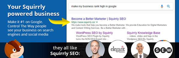 Plugin SEO SQUIRRLY para mejorar el posicionamiento de WordPress
