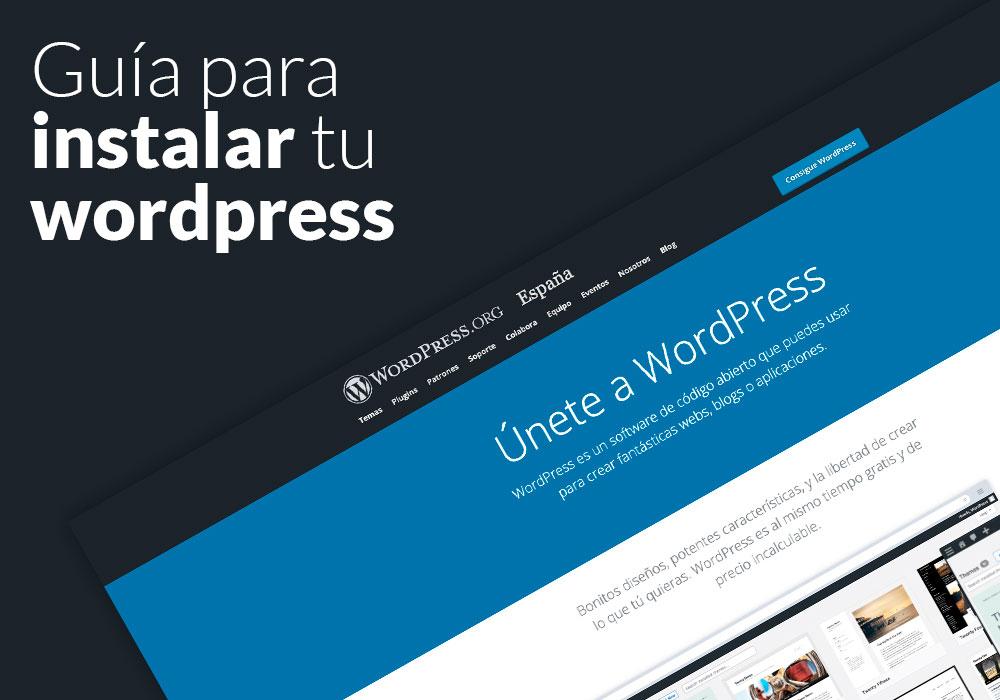 Guía para Instalar WordPress Manualmente