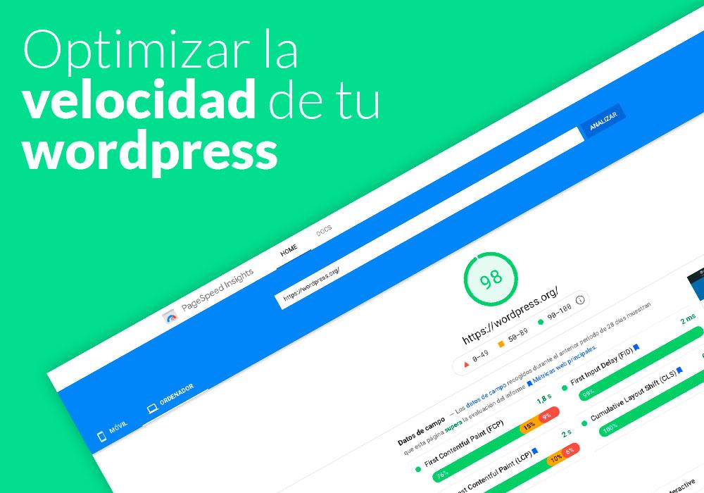 Guía para Optimizar Velocidad de WordPress