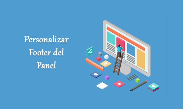 Cómo Personalizar Footer del Panel de Administración en WordPress