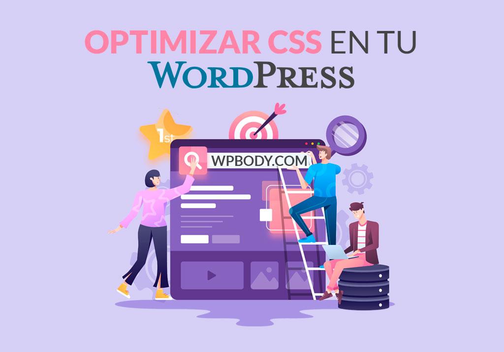 optimizar la entrega de CSS de WordPress