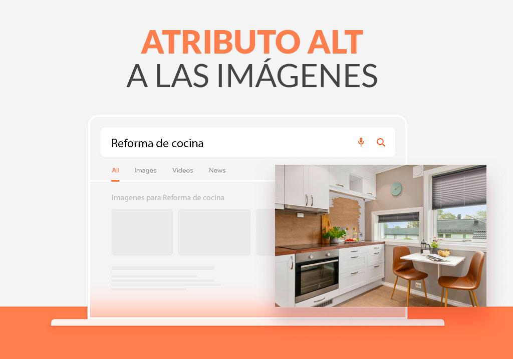 Añadir el texto alternativo o atributo Alt a las imágenes en Wordpress